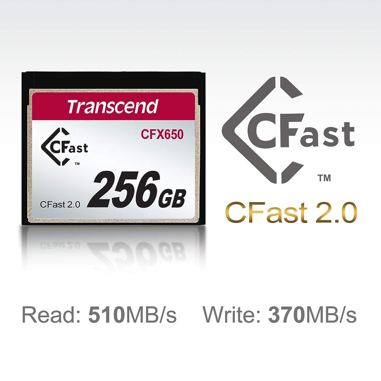 TS256GCFX650 Transcend 256GB CFast2.0 SATA3 SLC