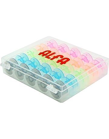 Alfa 6050 - Caja de 25 canillas de Colores