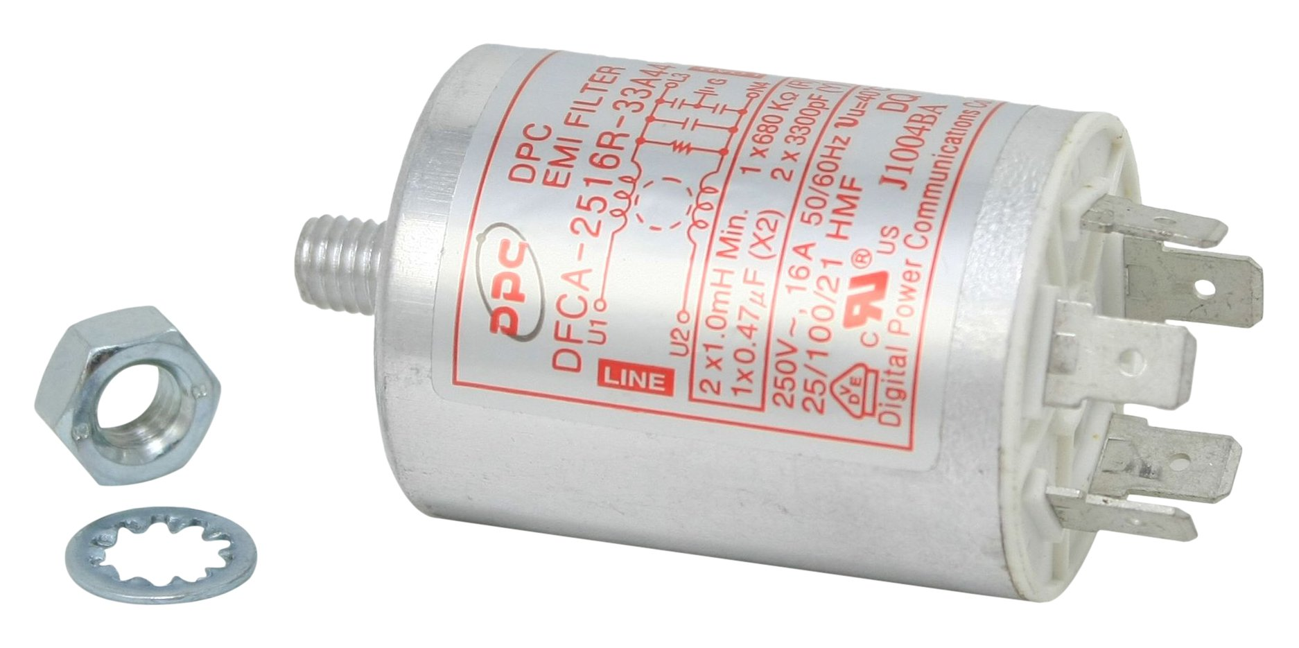 Whirlpool 8206624O Microwave Parts Filter