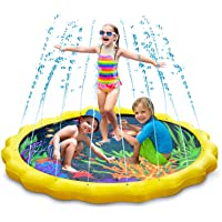 Keten Splash Play Mat, Sprinkle & Splash Water Pad 67 '' Summer Outdoor Games Garden Spray Toys for Learning…