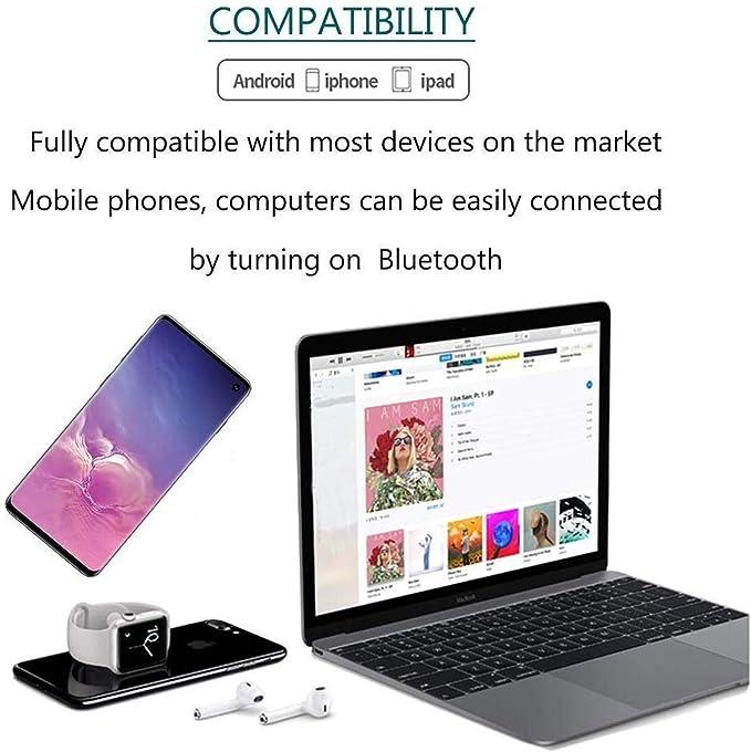 Auriculares inalámbricos Bluetooth 5.0,Control táctil, reducción ...