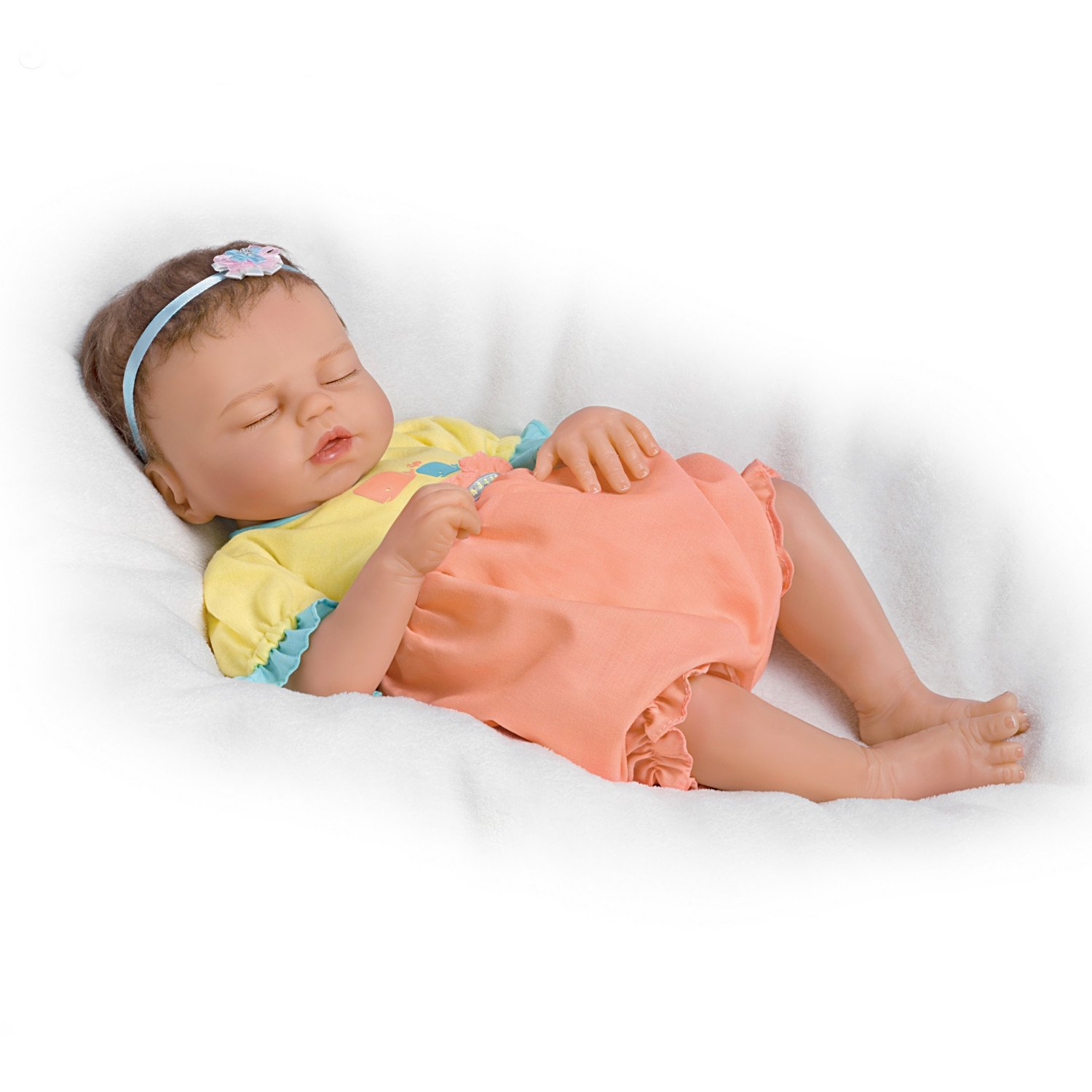 Baby of Mine So Truly Real® Lifelike & Realistic Weighted Newborn Baby Doll 17-inches by The Ashton-Drake Galleries by The Ashton-Drake Galleries