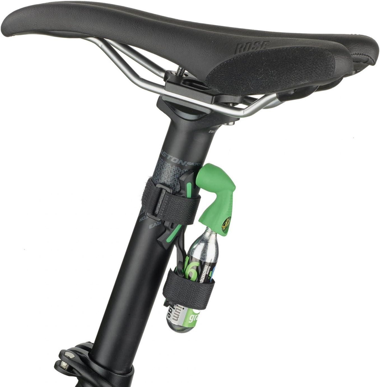 Genuine Innovations X-Mount bicicleta CO2 inflador nailon Universal sistema de montaje: Amazon.es: Deportes y aire libre