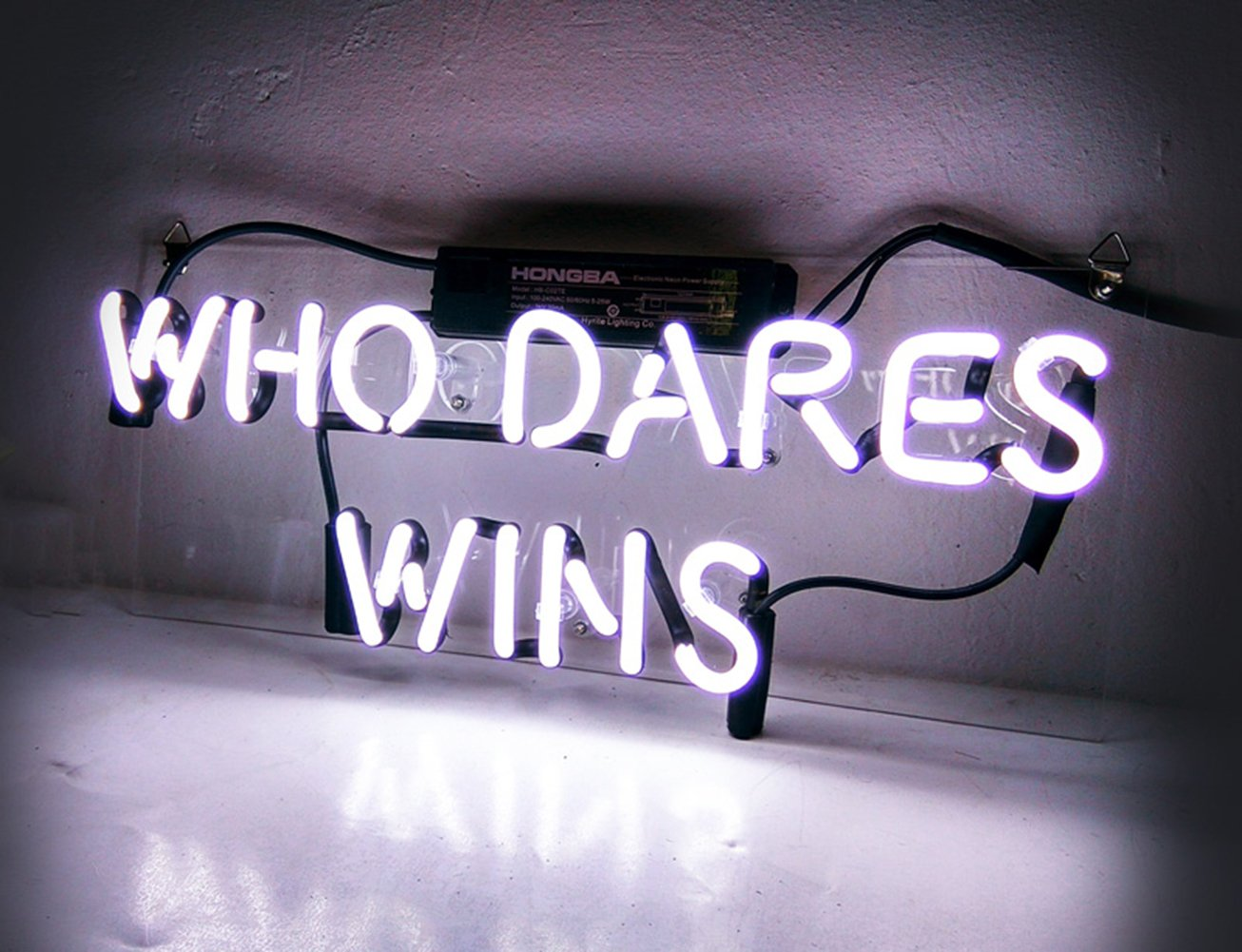 Who Dares Wins\' Cool Neon Signs Room Decor for Bedroom Girls Teens ...
