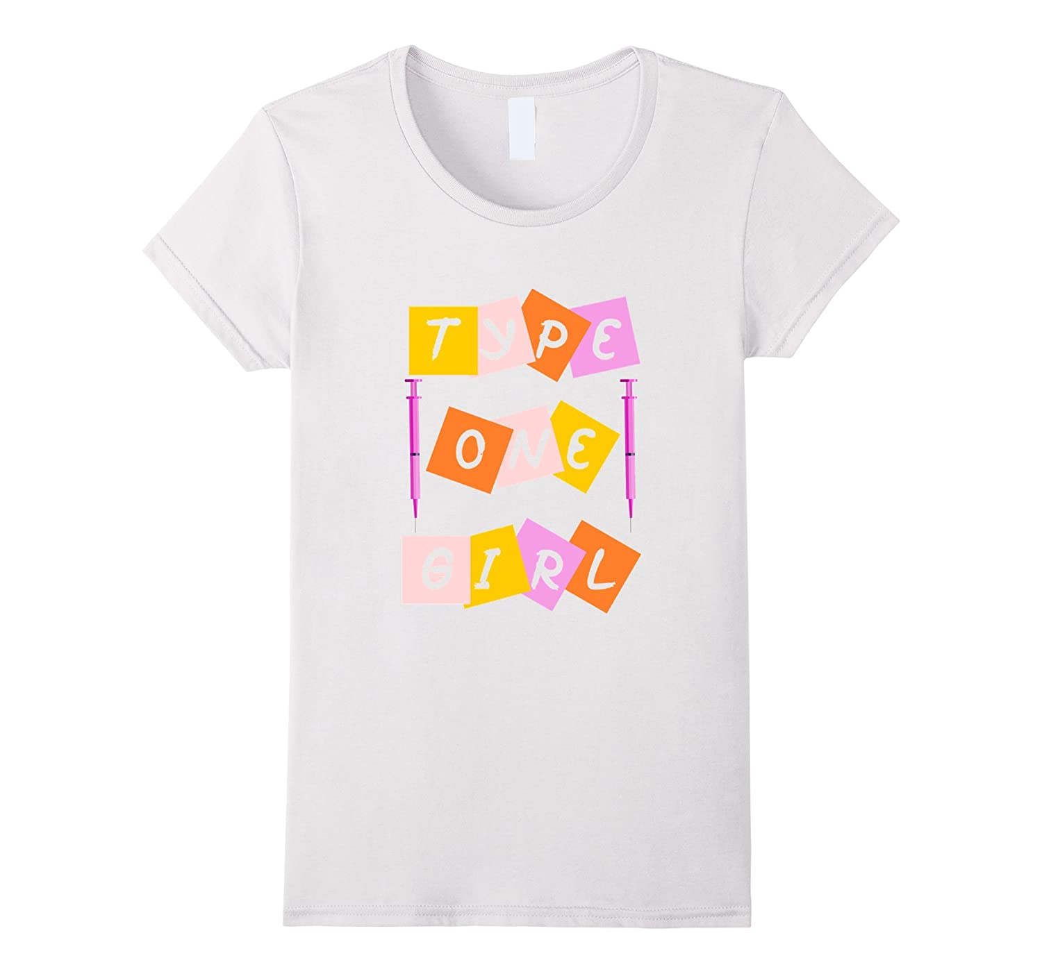 Type one diabetes girls t-shirt