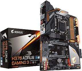 Gigabyte H370 AORUS Gaming 3 WiFi Mainboard schwarz