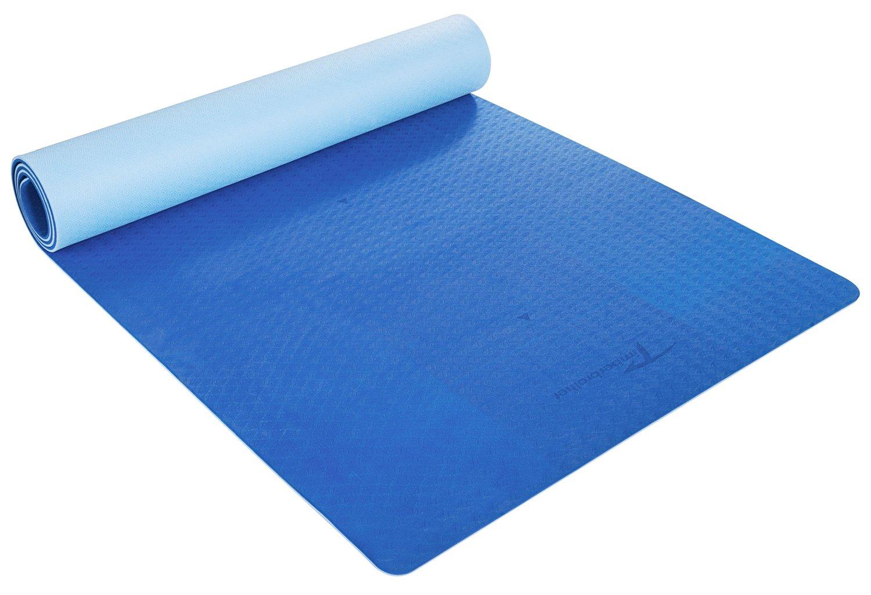 Timberbrother Esterilla de Yoga / Esterilla de TPE Respetuosa con el medio ambiente para Pilates,