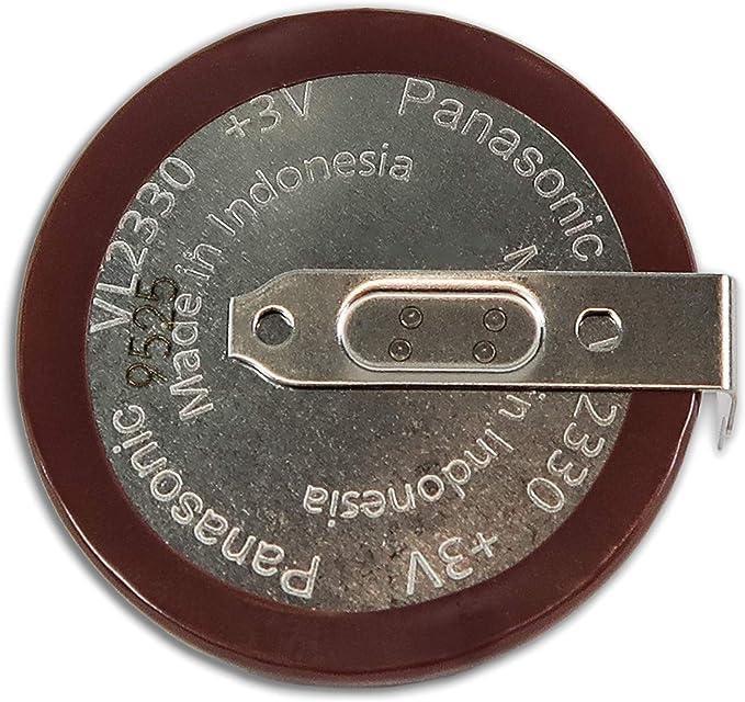 1X Panasonic CR2032 key fob battery for-=VW T5  .FREE P/&P