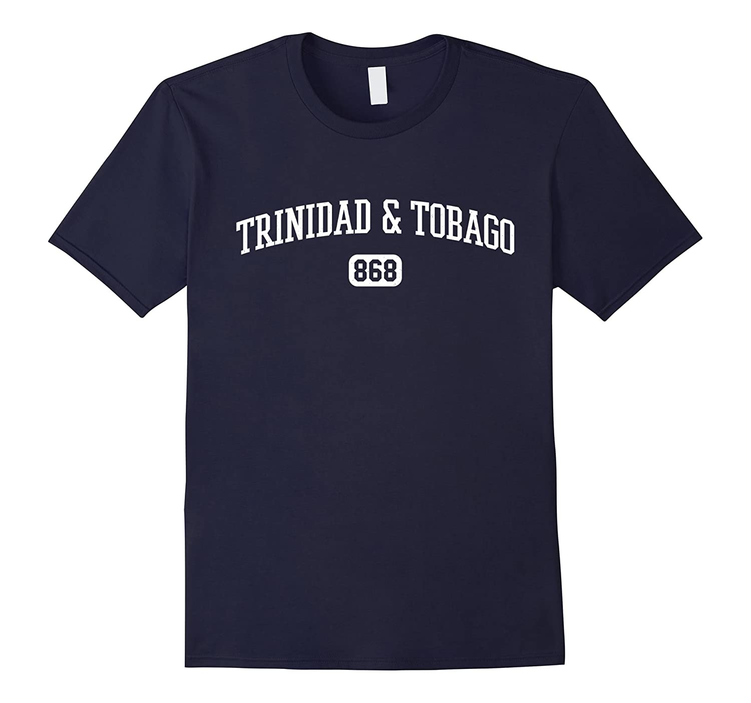 868 Trinidad Tobago Country Area Code Trinidadian Pride Tee-TH