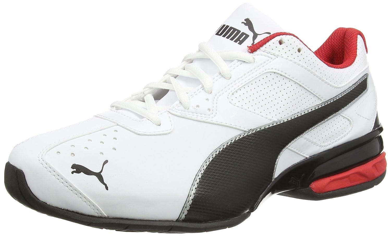 Puma Tazon 6 FM, Zapatillas de Entrenamiento para Hombre 41 EU|White/Black/Puma Silver