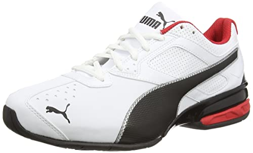 Puma Tazon 6, Men's Running Shoes, White/Black Silver, 7.5 UK