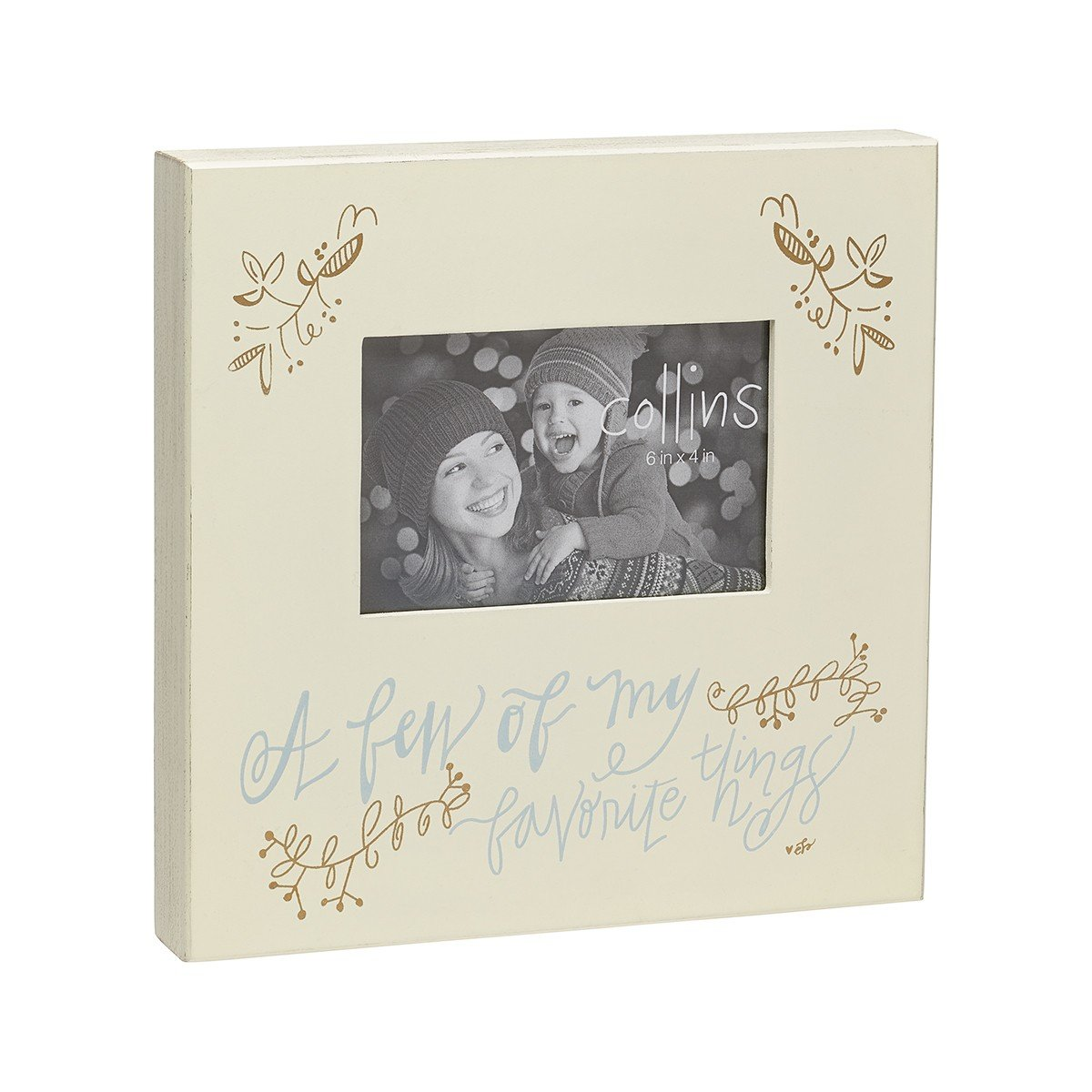 Collins A Few of My Favorite Things Wood Box Picture Frame, 10 x 10 Inch Collins Painting & Design