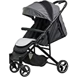 Safety 1st Willow Compact Newborn 4 Wheel Stroller, Blue