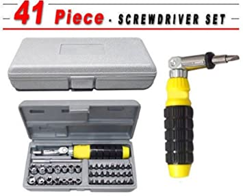 Magnetic Precision Screwdriver Tool Set - 41 In 1