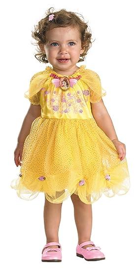 426584292e74 Amazon.com  UHC Baby Girl s Disney Princess Belle Infant Fancy Dress ...