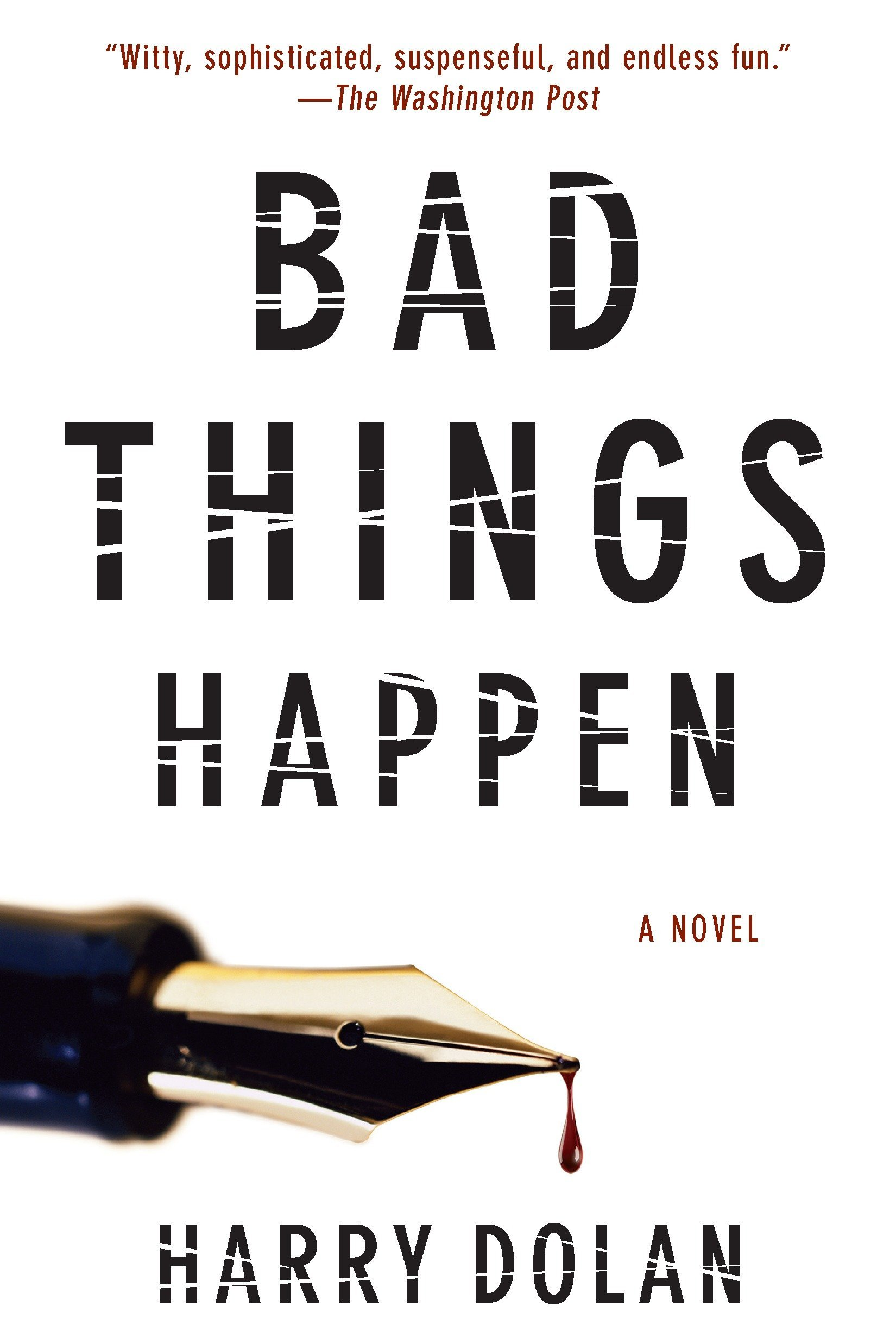 Read Online Bad Things Happen (David Loogan) PDF