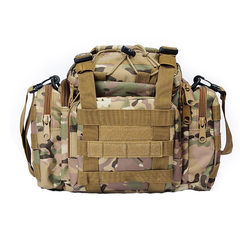 Dandeliondeme, Marsupio tattico Militare, per Corsa, Escursionismo, Escursionismo, CP Camouflage, Taglia Unica
