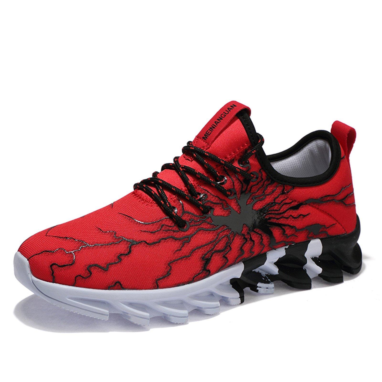 LSGEGO Herren Laufschuhe Mode Sneaker Leichte Breathable beiläufige Athletische Sportschuhe Gehender Turnschuh