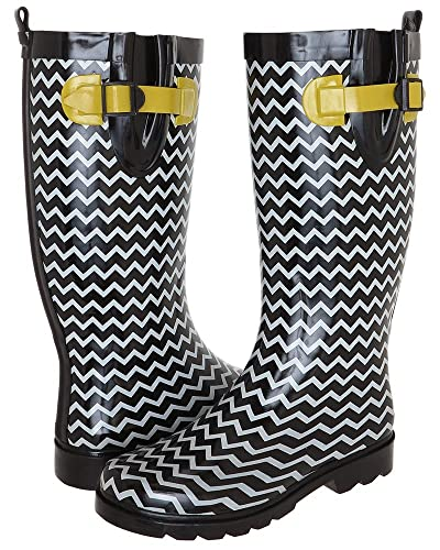 Women's Zig Zag Rain Boot