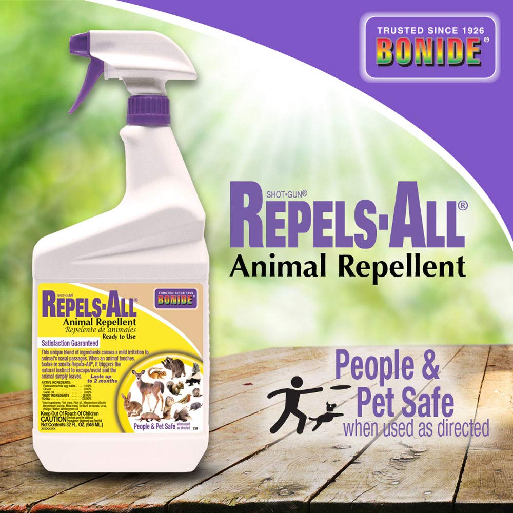 Bonide (BND238) - Repels-All Ready to Use Animal Repellent (32 fl oz.)