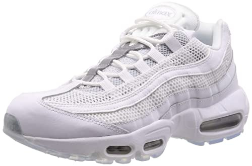 Nike Air Max 95 Essential Mens WhiteSilver Sneakers