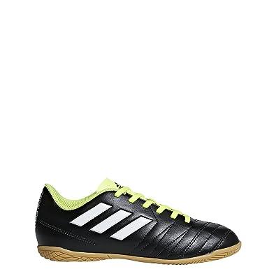 adidas Unisex-Kinder Copaletto TF J Fußballschuhe, Schwarz (Schwarz/Weiß/Gelb 000), 36 EU