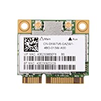 fosa Carte WiFi avec PCI-E interfaec, 600Mbps Dual Band 2.4 GHz/5 GHz Carte Bluetooth WiFi pour DELL/Asus/Acer/Lenovo/HP