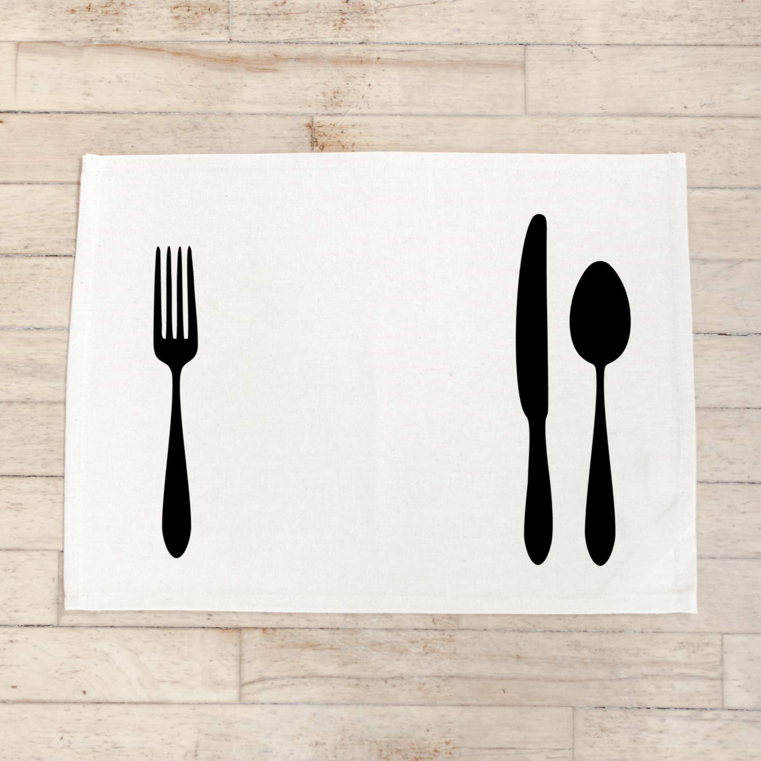 Eat Rolled Napkin tableware present place setting home decor place mat housewarming gift set the table