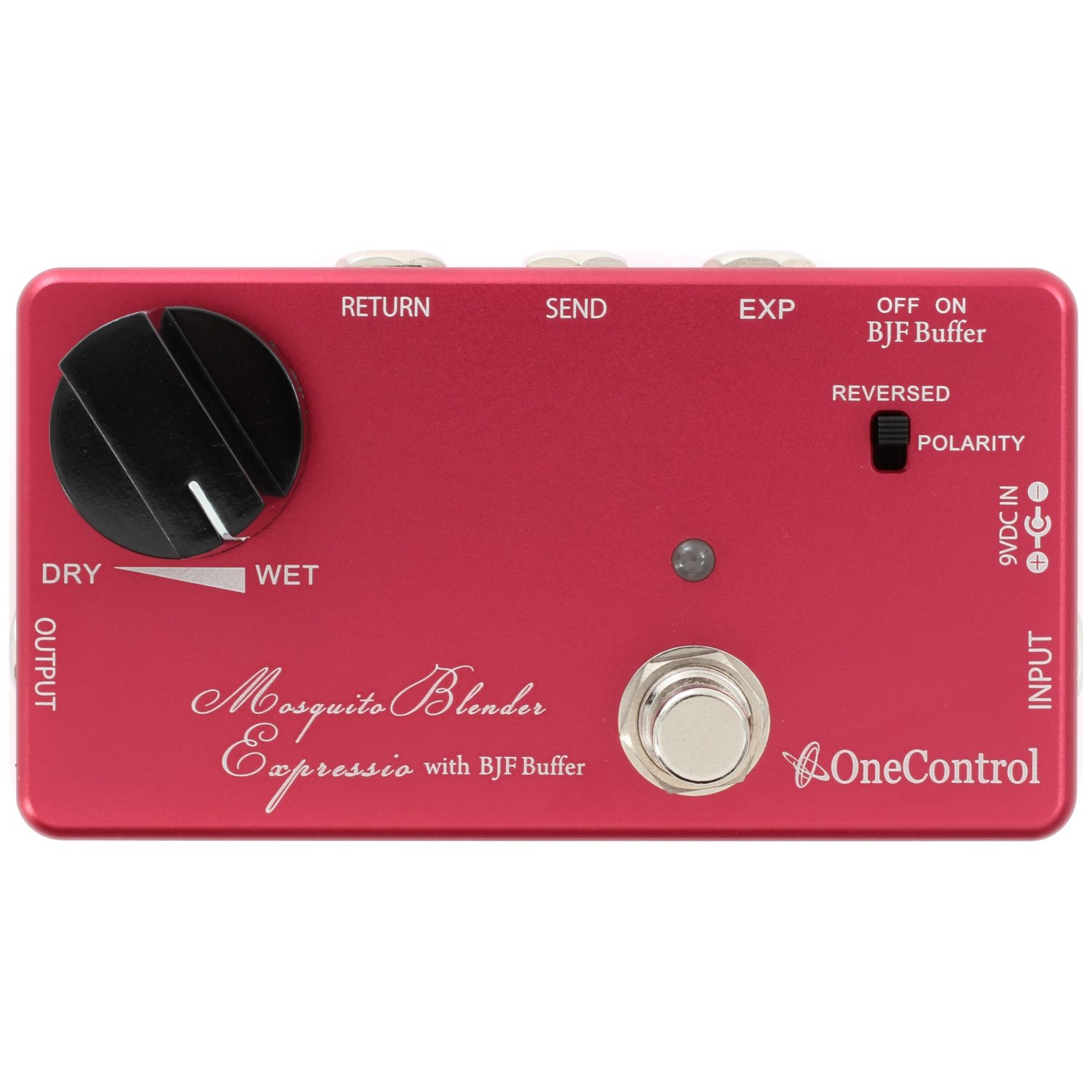 One Control Mosquite Blender Expressio - Wet/Dry Effects Blender Pedal
