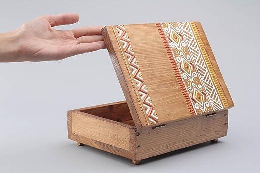 Caja de madera para cigarros: Amazon.es: Hogar
