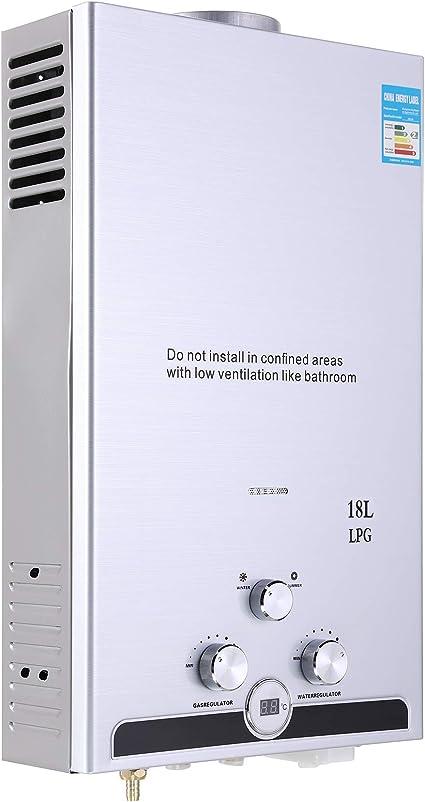 18L Warmwasserspeicher Gas Durchlauferhitzer Durchlauferhitzer Boiler 36 KW
