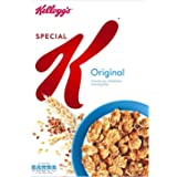 Kellogg's Special K Original Crunchy Rice, Wholewheat & Barley Flakes Cereal (Imported), 370g
