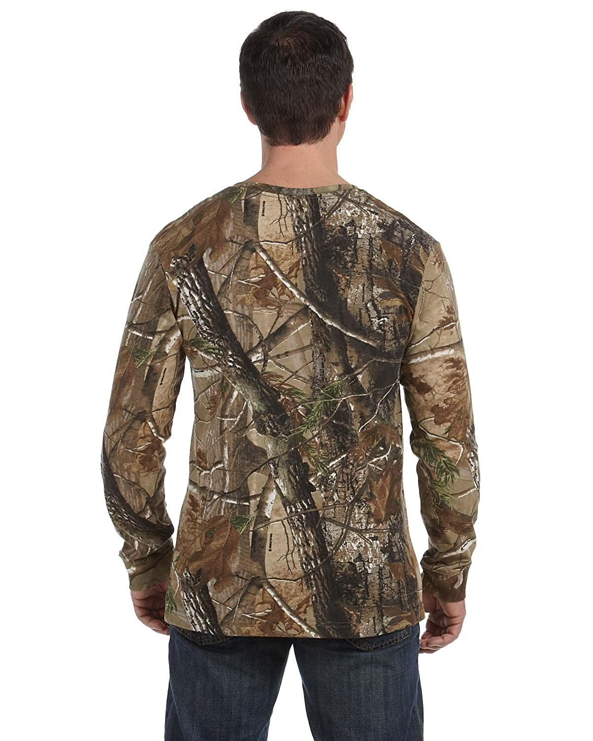 Code Five Officially Licensed REALTREE Camouflage Long-Sleeve T-Shirt
