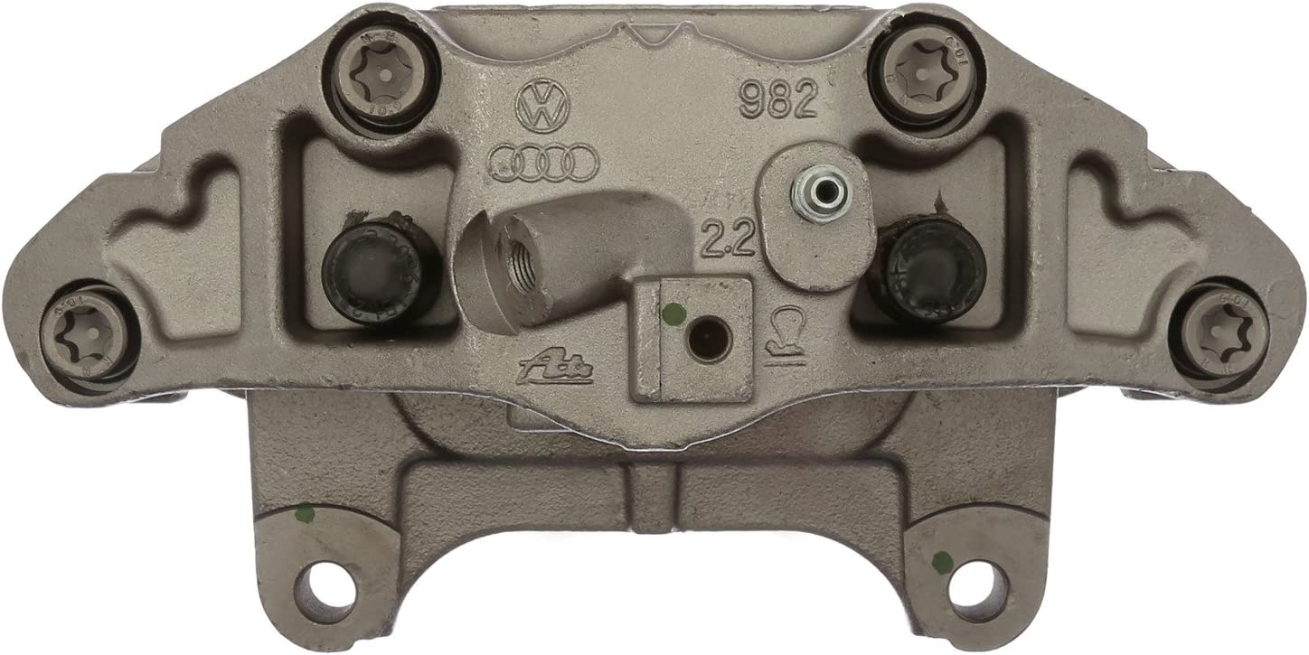 Friction Ready Non-Coated Remanufactured ACDelco 18FR12574 Professional Front Passenger Side Disc Brake Caliper Assembly without Pads