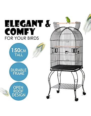 Smart Bird Canaries Cage Finches Feeder Seats Plastic Swing Hook Bird Pet Pet Supplies