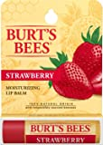 Burt's Bees Strawberry Lip Balm - Hang Sell Blister, 4.25g