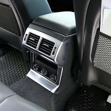 scarpe da ginnastica massima qualità taglia 7 Accessori auto styling ABS Chrome Rear fila climatizzatore ...
