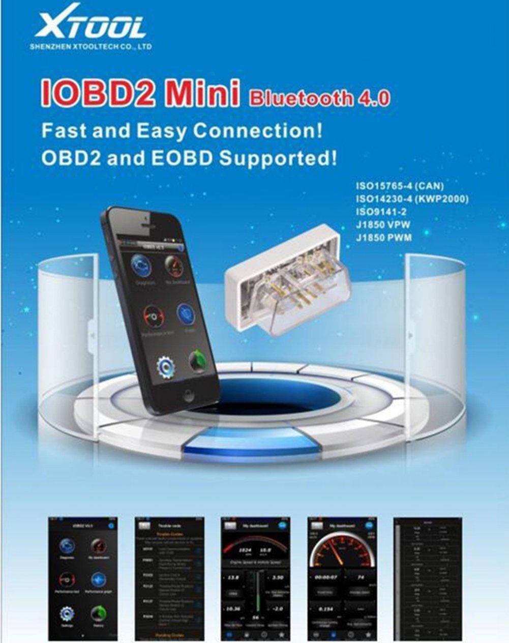 Neue Produkt Gute Funktion Original xTOOL iOBD2 Mini unterstützt ...