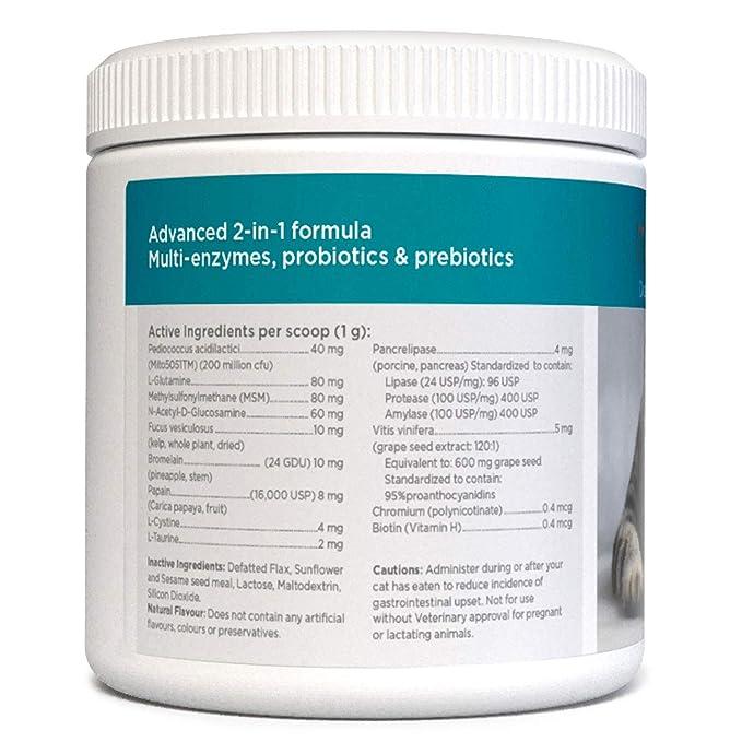maxxicat – maxxidigest+ Probióticos, prebióticos y enzimas digestivas para Gatos - Ayuda Avanzada a la digestión Felina & al Sistema inmunológico - ...