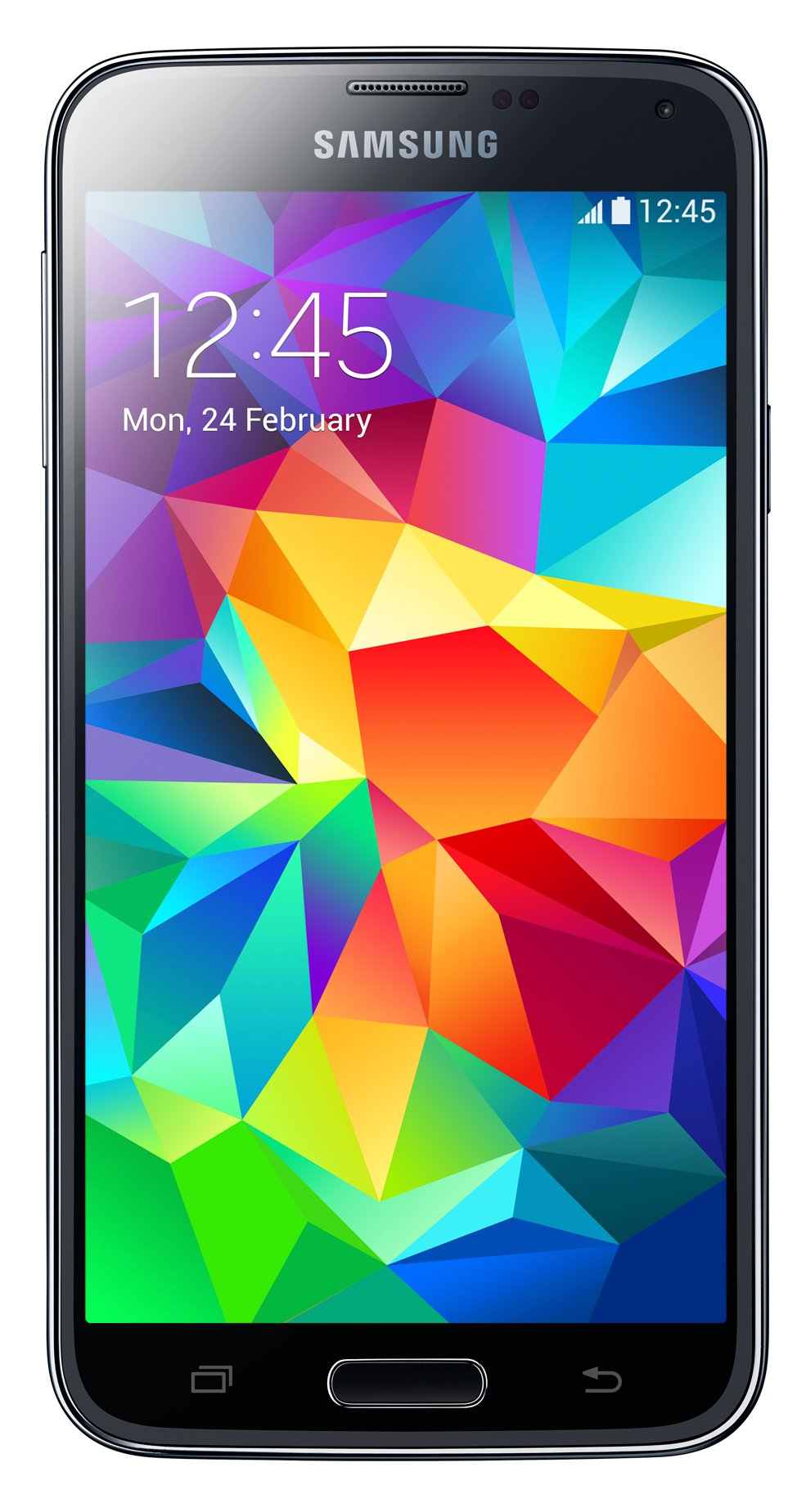 Samsung Galaxy S5 G900FD DUOS 4G LTE 16GB Unlocked GSM Dual-SIM Quad-Core Smartphone - Retail Packaging - Black