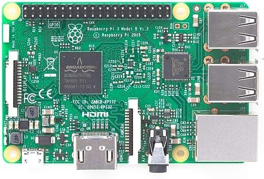 Raspberry Pi 3 Model B Single Board Calculator Computers Accessories