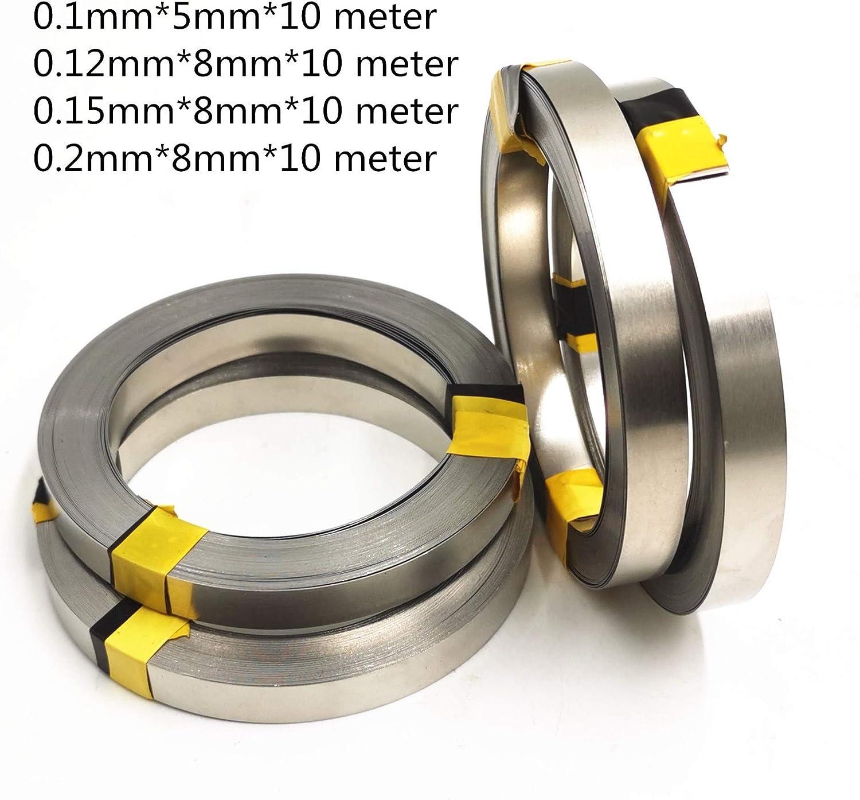 0.1mm5mm Hovico Nickel Strip 1 Roll 10m 18650 AA Battery Nickel Sheet Plate Nickel Plated Steel Belt Strip Connector spot welding machine Battery welders