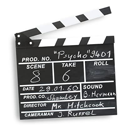 ciak hollywood  Ciak regista Patta XXL - Hollywood Deko regista ciak lavagna ...