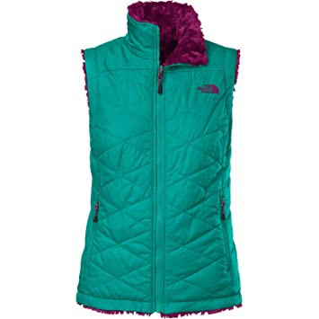 6345d8af5286 The North Face Mossbud Swirl Vest Womens Fanfare Green Parlour Purple XS