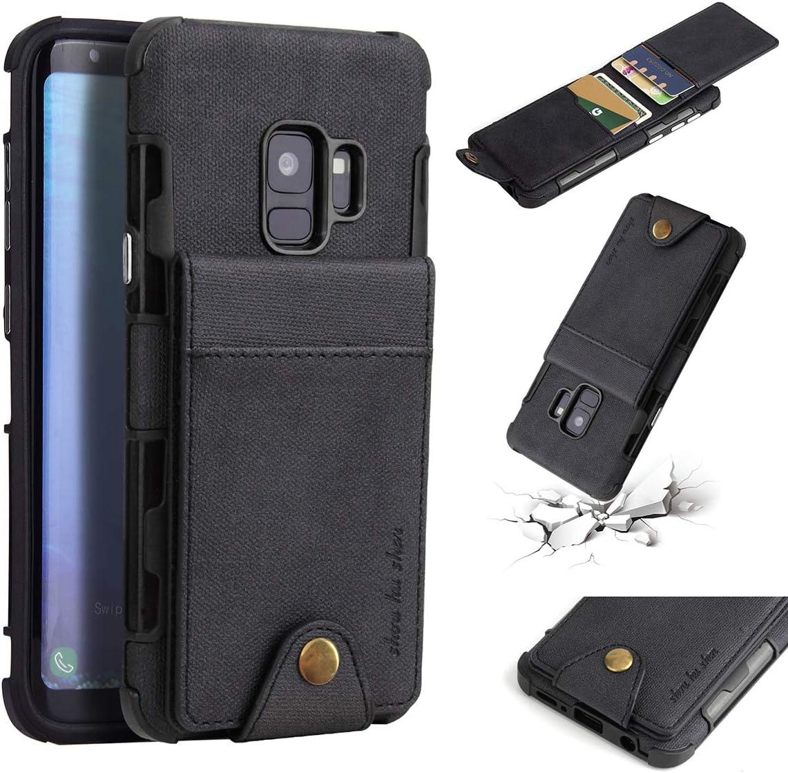 Binguowang Wallet Case for Samsung Galaxy S9