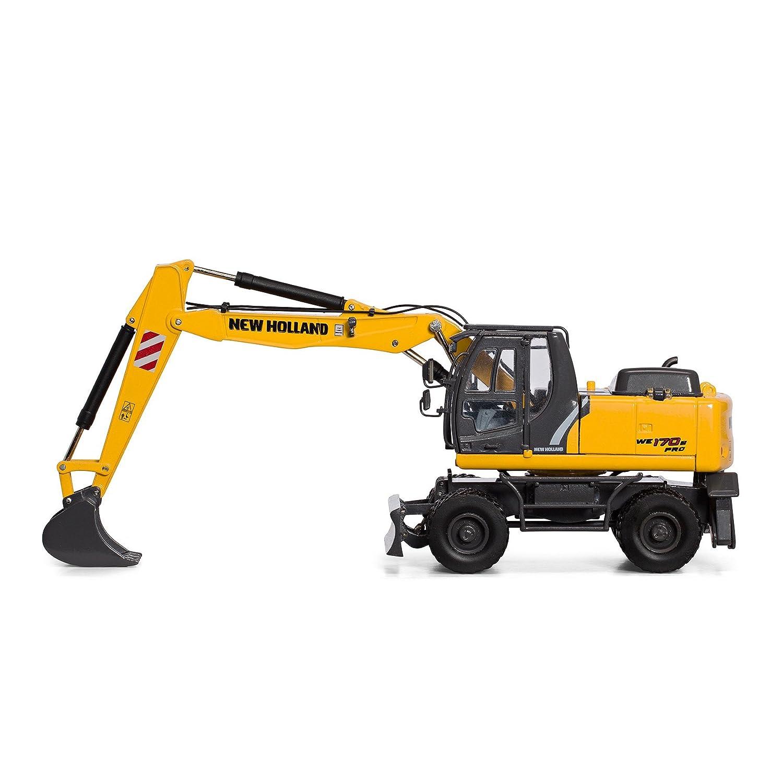 Motorart 13787 Maßstab 1: 50 170B Pro New Holland Rädern Bagger Modell Spielzeug