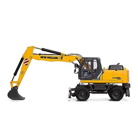 Motorart 13787 - Peluche de excavadora con ruedas (escala 1:50, modelo 170B