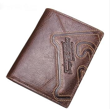 T-FBW Billetera para hombres Monedero de los hombres Cartera de cuero de lujo de alta calidad Cartera de múltiples funciones 30 por ciento Paquete de la ...