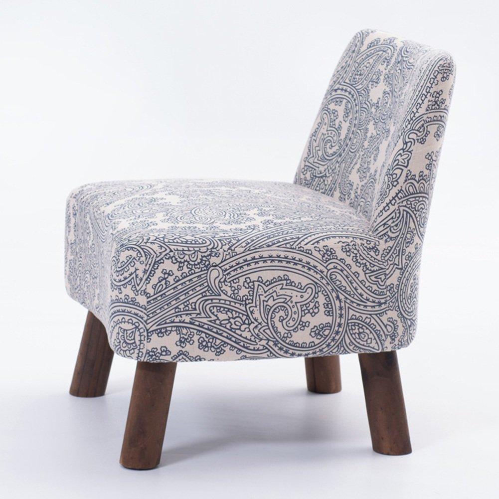 ZEMIN ダイニングチェア椅子の木の木製折り畳み 椅子ソファーシートスツールテーブルポータブル木製ソリッドウッドパディングクリエイティブショート安定多機能、4色Availabler、55X53X60.5CM ( 色 : A ) B078RJJX5W A A
