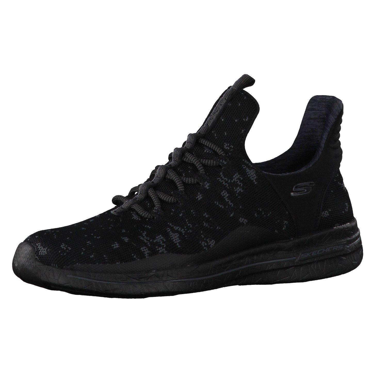 Skechers Burst 2.0 New Avenues Womens Slip On Sneakers Black 9.5